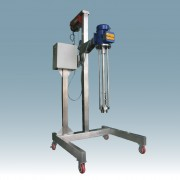 Multimix Batch High Shear Mixer with panel  control and lifting