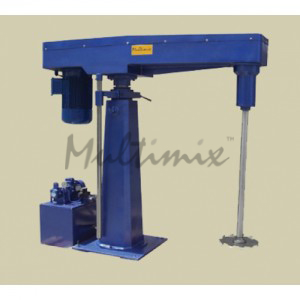 high speed disperser, production scale,