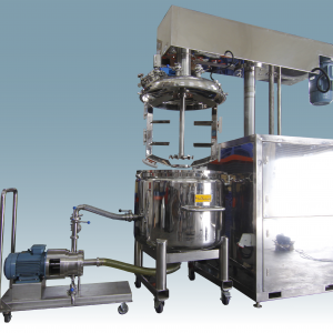 Multimix DSM Vacuum Mixer with Inline High Shear Mixing System